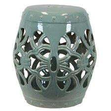 Ceramic Open Garden Stool