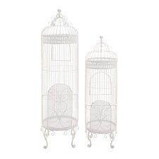 The Cool Set of 2 Metal Birdcage