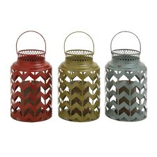 The Timeless Metal Lantern (Set of 3)