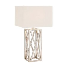 """The Heartthrob 33"""" H Table Lamp with Rectangular Shade"""