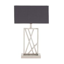 """The Sharp 32"""" H Table Lamp with Rectangular Shade"""