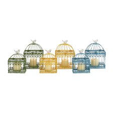 6 Piece The Intricate Metal Lantern Set