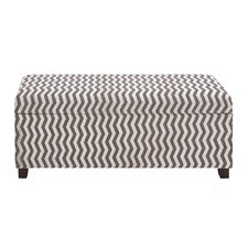 Zebra Wood / Fabric Bench