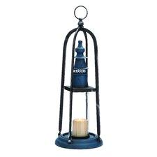 Charming Huangpu Metal Glass Lantern