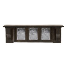 Black Polished Wood Picture Frame