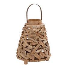 Surprisingly Creative Driftwood Metal Lantern