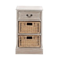 The Simple Wood 2 Basket Chest