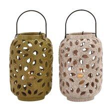 Stunning Ceramic Lantern (Set of 2)