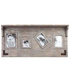 Elegant and Versatile Wooden Top Shelf Picture Frame