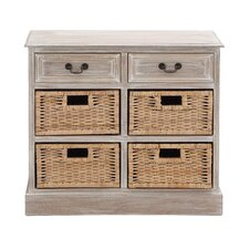 The Rural Wood 4 Basket Chest