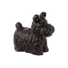 Charming and Cute Ceramic Dog Figurine