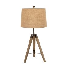 """The Independent Tripod 31"""" H Table Lamp with Empire Shade"""