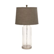 """Unique 30"""" H Table Lamp with Empire Shade"""