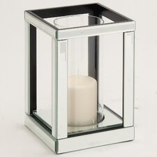The Lovely Wood Mirror Candle Holder