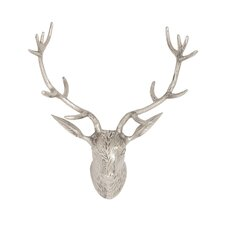 Environmentally Friendly Aluminum Reindeer Head Wall Décor