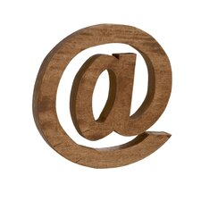 Modern and Ultra-Cool Wood Letter Block