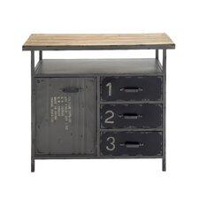Metal Wood Utility Cabinet