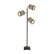 Metal 3 Arm Floor Lamp