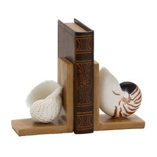 Elegant Shell Book End (Set of 2)