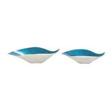 Simply Lovely Enamel Decorative Bowl 2 Piece Set