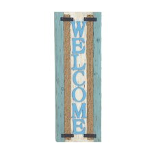 Lovely and Beautiful Wood Welcome Plaque Wall Décor