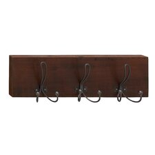 Perfect Wood Metal Coat Rack