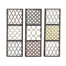 3 Piece Priceless Metal Wall Décor Set
