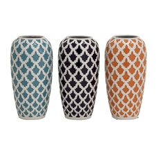 Charming And Exclusive Ceramic Vase (Set of 3)