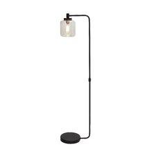 Fancy Metal Glass Floor Lamp