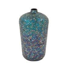 Metal Mosaic Vase