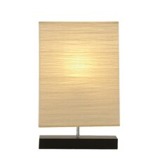 "Sparkling 20"" H Table Lamp with Rectangular Shade"