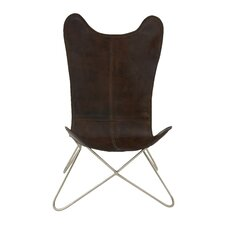 Comfortable Leather Side Chair