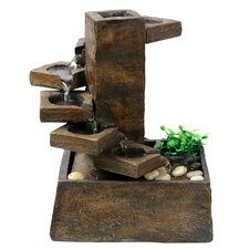Resin Eternity Step Stone Tiered Fountain
