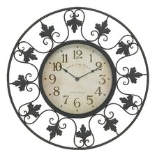 "Oversized 23"" Decorative Outdoor Wall Clock"