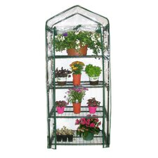 2.5 Ft. W x 1.5 Ft. D 4 Tiered Mini Greenhousese