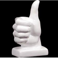Yangtze's Attractive Ceramic Hand Decor Statue