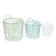 Alluring 3 Piece Storage Basket Set