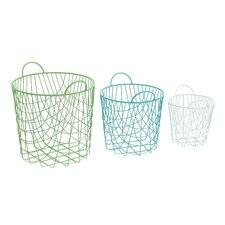 Alluring 3 Piece Storage Basket Set
