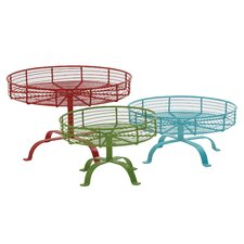 3 Piece Smart Looking Cake Stand Set
