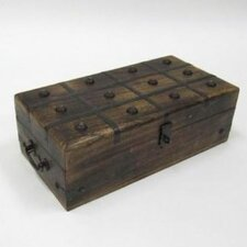 Pirate Treasure Chest with Inlaid
