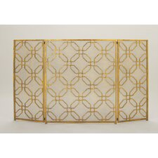 Tin Fireplace Screen