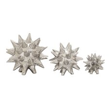 3 Piece Made Star Sculpture Set