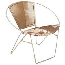 Hide Leather Side Chair