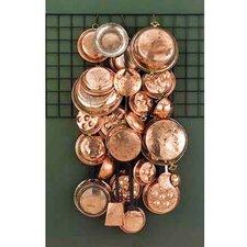 25 Piece Copper Kitchen Wall Assortment Wall Décor Set