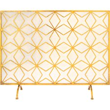 Iron Fireplace Screen