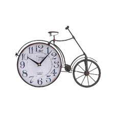 Metal Bicycle Quartz Standing Clock
