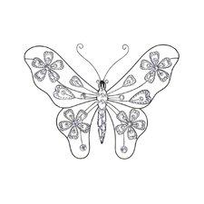 Creative Butterfly Wall Décor