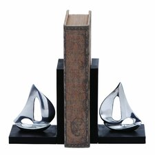 Sailboat Book End (Set of 2)