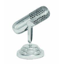 Trophy Microphone Sculpture