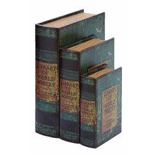 Speir 3 Piece World Poetry Book Box Set